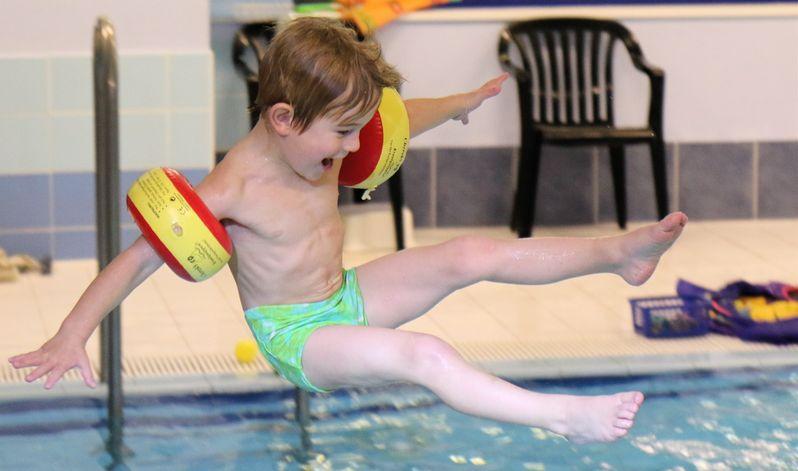 volné plavání